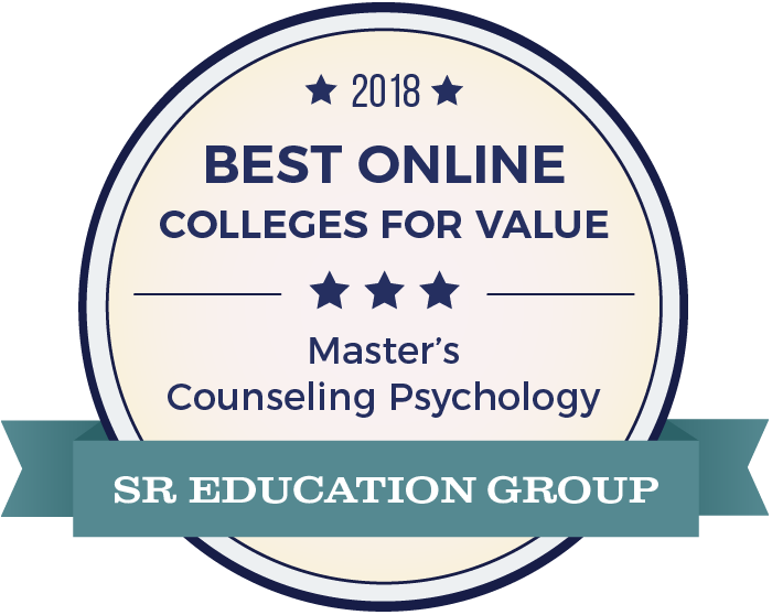 Counseling Psychology-Top Online Colleges-2018-Badge