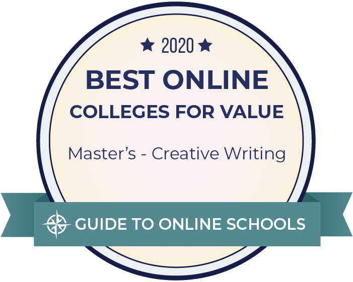2020 Best Online Master's in Creative Writing Badge