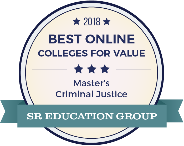 Criminal Justice-Top Online Colleges-2018-Badge