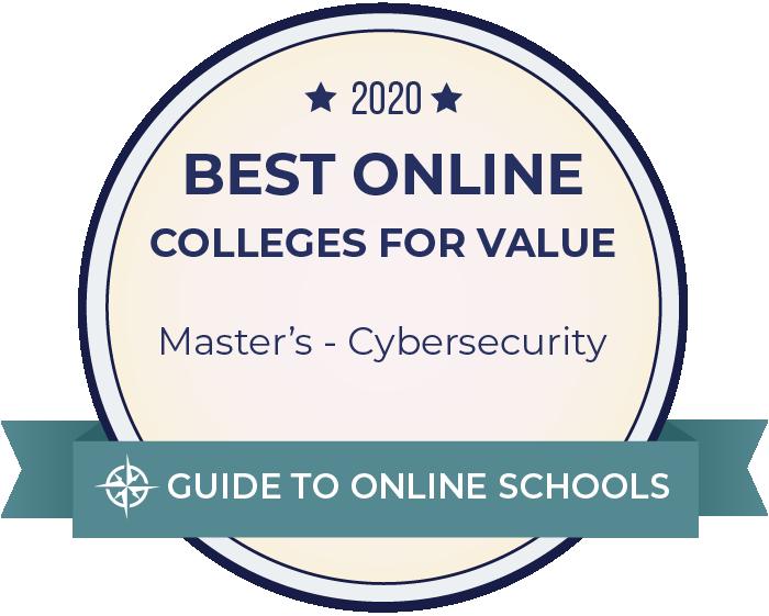 2020 Best Online Master's in Cybersecurity Badge