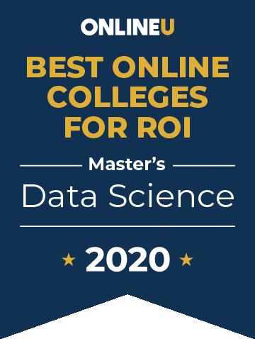 2020 Best Online Master's in Data Science Badge
