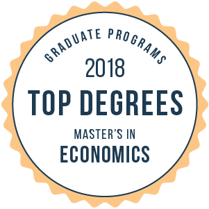2018 Best Schools for a Master's in Economics