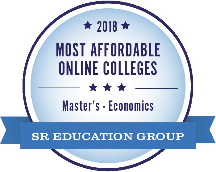 Economics-Most Affordable Online Colleges-2018-Badge