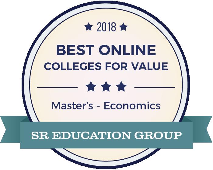 Economics-Top Online Colleges-2018-Badge