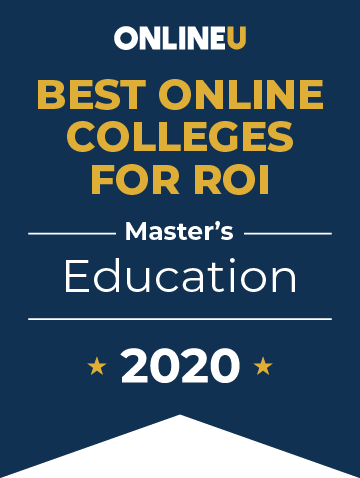 2020 Best Online Master's in Education Badge