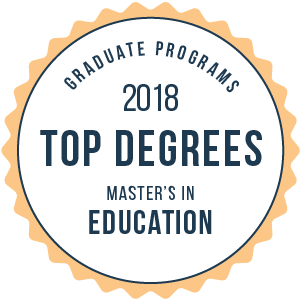 Education-Top Online Graduate Schools-2018-Badge