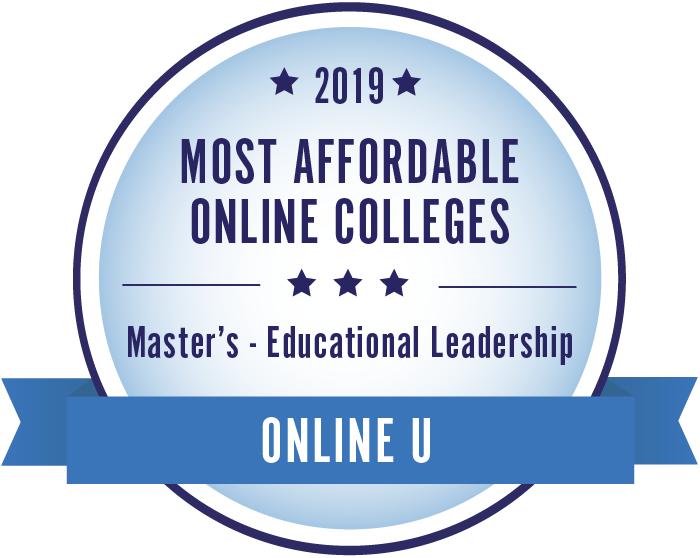 Educational Leadership-Top Online Colleges-2019-Badge