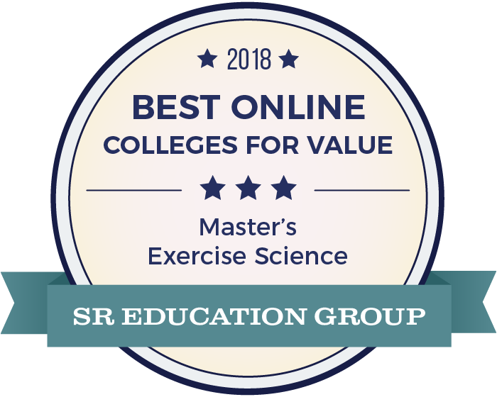 Exercise Science-Top Online Colleges-2018-Badge