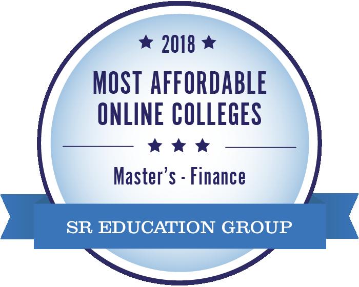 Finance-Most Affordable Online Colleges-2018-Badge
