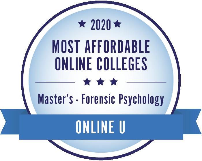 Forensic Psychology-Most Affordable Online Colleges-2019-Badge