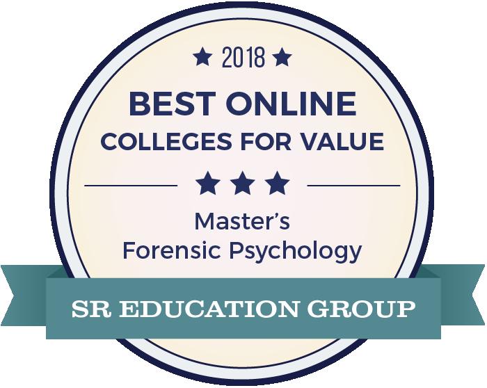 Forensic Psychology-Top Online Colleges-2018-Badge