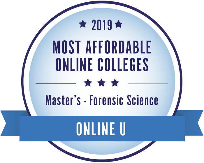 Forensic Science-Top Online Colleges-2019-Badge