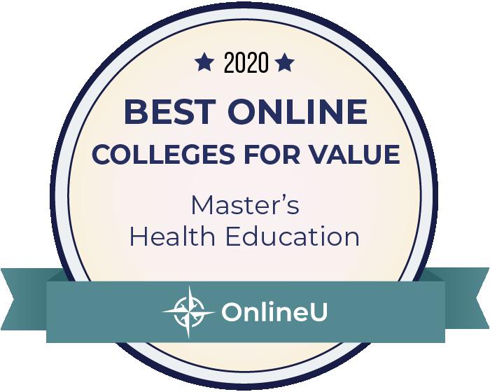 2020 Best Online Master's in Health Education Badge