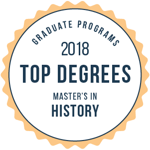 History-Top Graduate Schools-2018-Badge