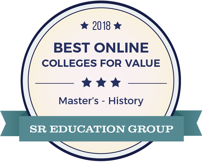 History-Top Online Colleges-2018-Badge