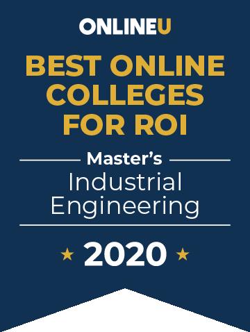 2020 Best Online Master's in Industrial Engineering Badge