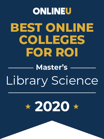2020 Best Online Master's in Library Science Badge