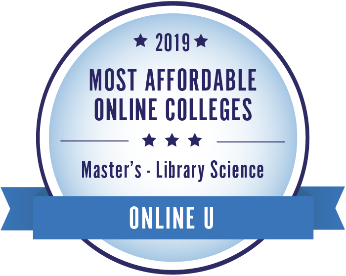 Library Science-Top Online Colleges-2019-Badge