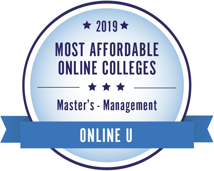 2019 Best Online Master's in Management Programs