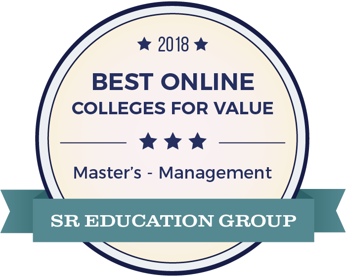 Management-Top Online Colleges-2018-Badge