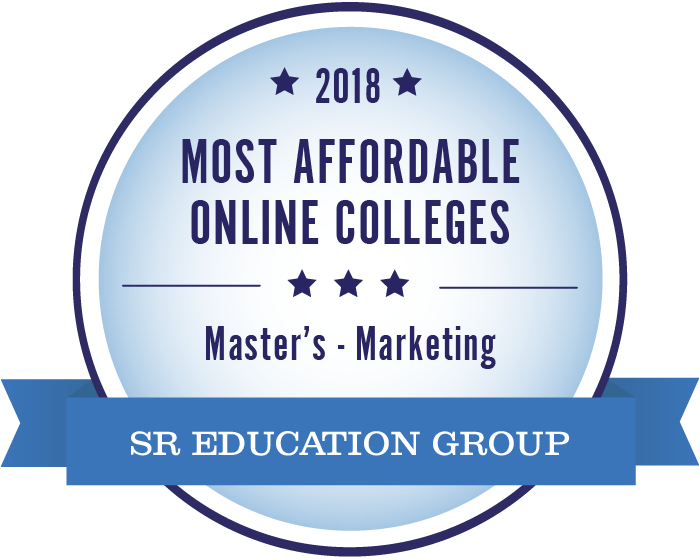 Marketing-Most Affordable Online Colleges-2018-Badge