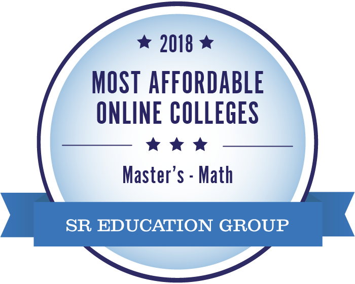 Mathematics-Most Affordable Online Colleges-2018-Badge