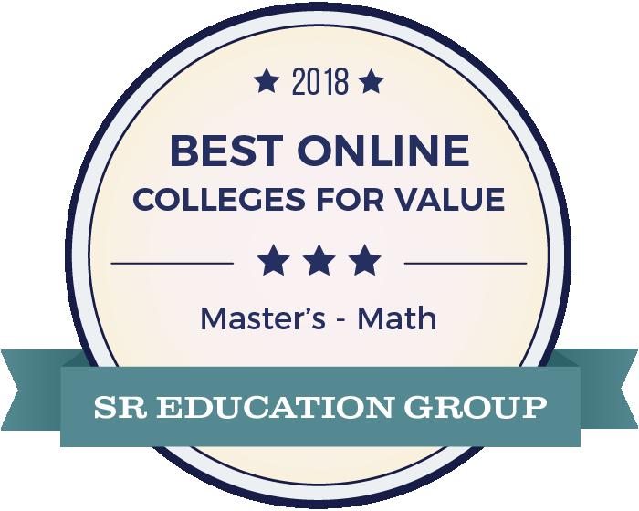 Mathematics-Top Online Colleges-2018-Badge