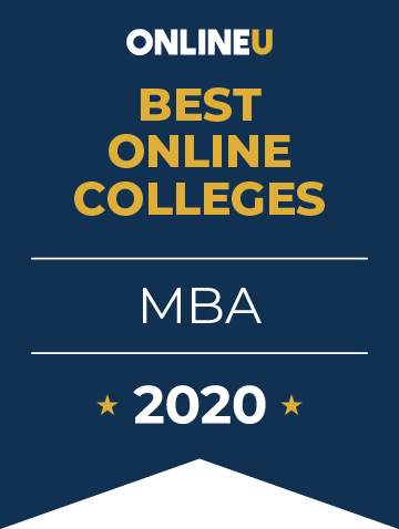 2020 Best Online MBA Programs Badge