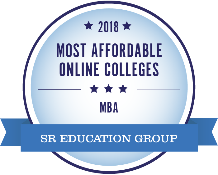 MBA-Most Affordable Online Colleges-2018-Badge