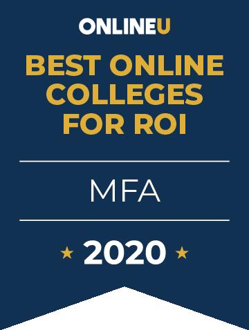 2020 Best Online Master's in MFA Badge