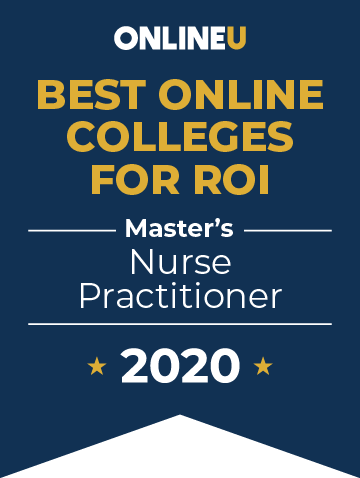 2020 Best Online Master's in Nurse Practitioner (NP) Badge