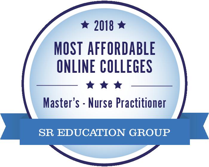 Nurse Practitioner (NP)-Most Affordable Online Colleges-2018-Badge