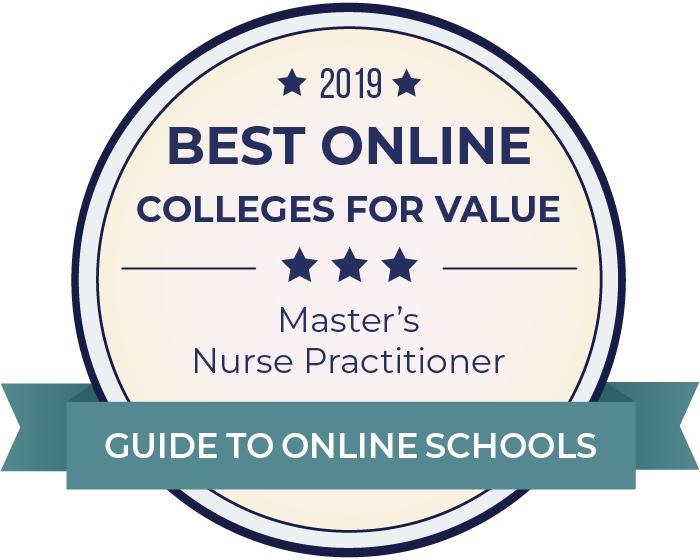 2019 Best Online Master's in Nurse Practitioner (NP) Badge