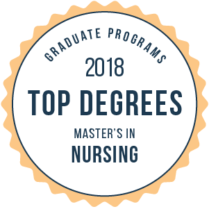 Nursing-Top Graduate Schools-2018-Badge