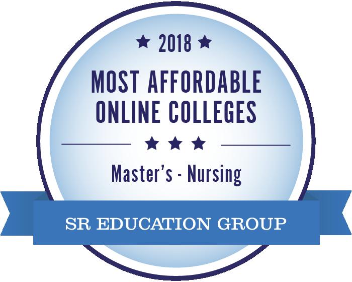 Nursing-Most Affordable Online Colleges-2018-Badge