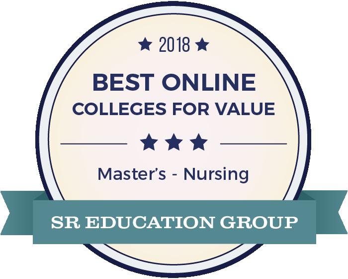 Nursing-Top Online Colleges-2018-Badge