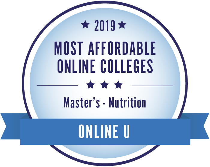 2019 best accredited online nutrition master's degrees