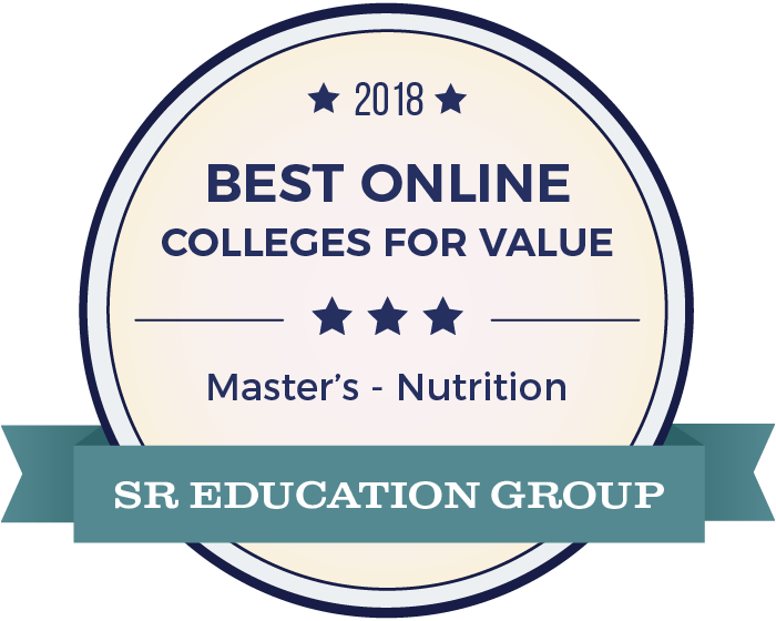 Nutrition-Top Online Colleges-2018-Badge