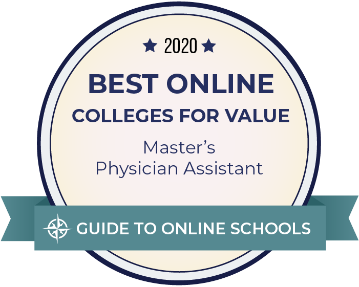 2020 Best Online Master's in Physician Assistant Badge