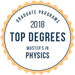 Physics-Top Graduate Schools-2018-Badge