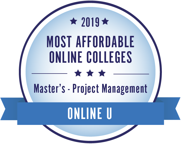 Project Management-Top Online Colleges-2019-Badge