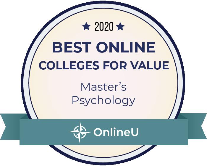 2020 Best Online Master's in Psychology Badge