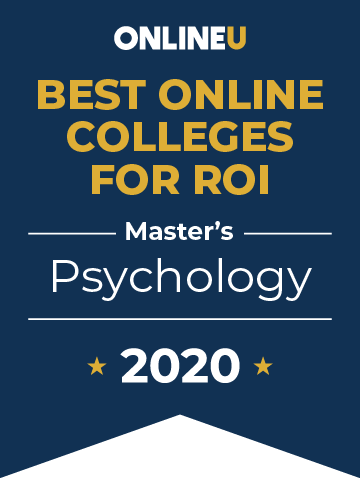 2020 Best Online Master's in Psychology Badge