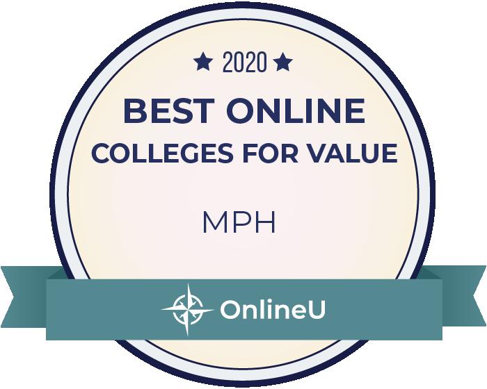 2020 Best Online Master's in Public Health Badge