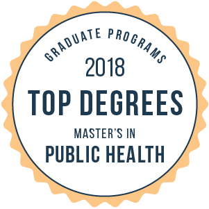 Public Health-Top Online Graduate Schools-2018-Badge
