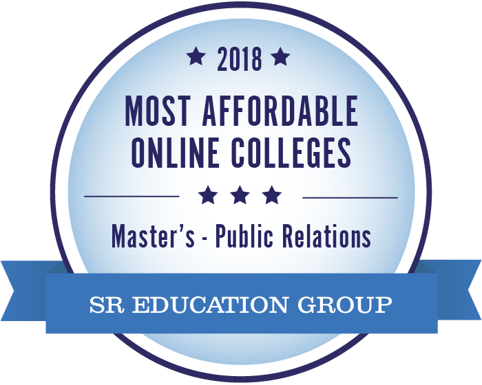 Public Relations-Most Affordable Online Colleges-2018-Badge