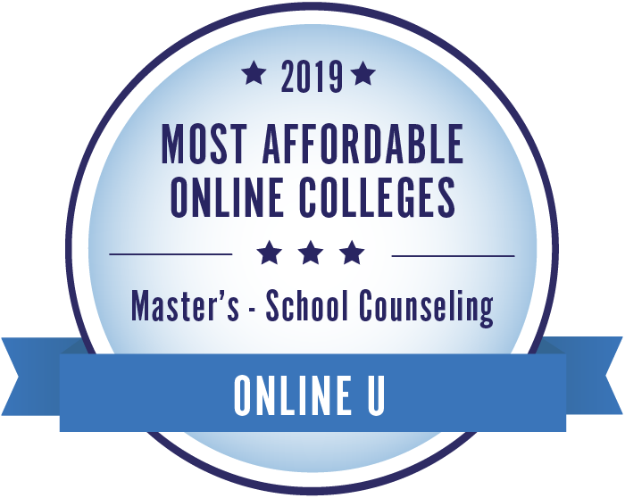 School Counseling-Top Online Colleges-2019-Badge