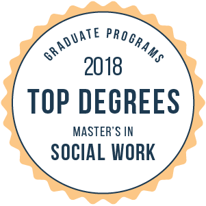 Social Work-Top Graduate Schools-2018-Badge