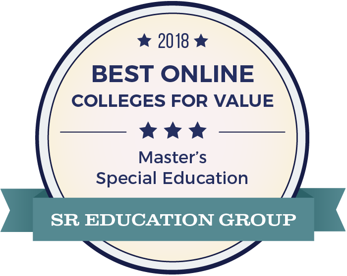 Special Education-Top Online Colleges-2018-Badge