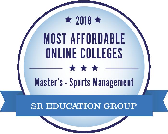Sports Management-Most Affordable Online Colleges-2018-Badge